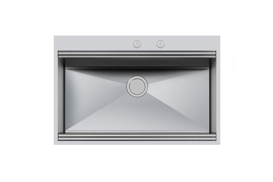 FOSTER 1024 050 - Lavello da cucina 1 Vasca, materiale Acciaio inox  finitura Spazzolato