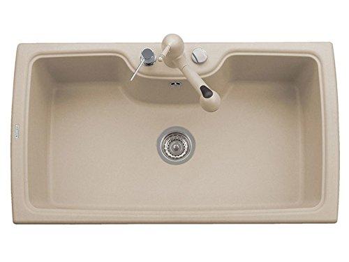 Plados lavello monovasca avena HR0860 Lavello ad incasso Rettangolare