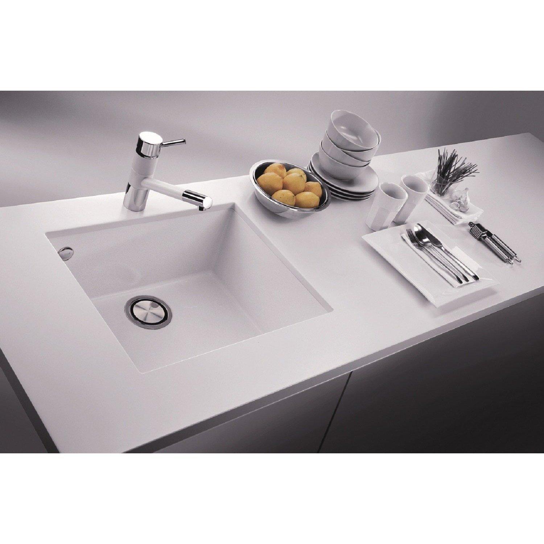 Pogno Plados 58,4 x 45,7 cm singolo lavabo da cucina in granito lavello